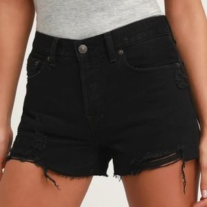 Free People Sofia Cutoff Distressed Shorts